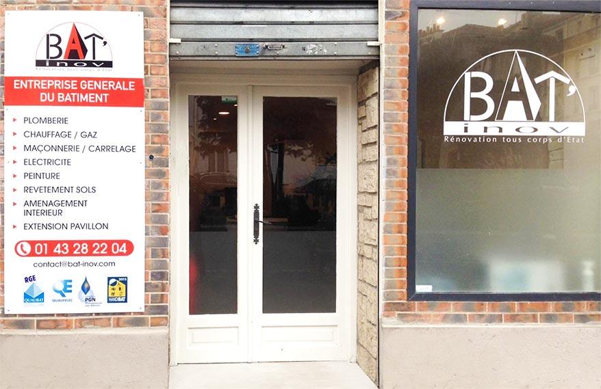 Agence Bat'Inov à Vincennes